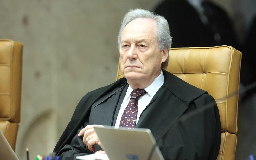 O ministro do STF Ricardo Lewandowski durante julgamento na Corte em abril (Foto: Carlos Moura/SCO/STF)