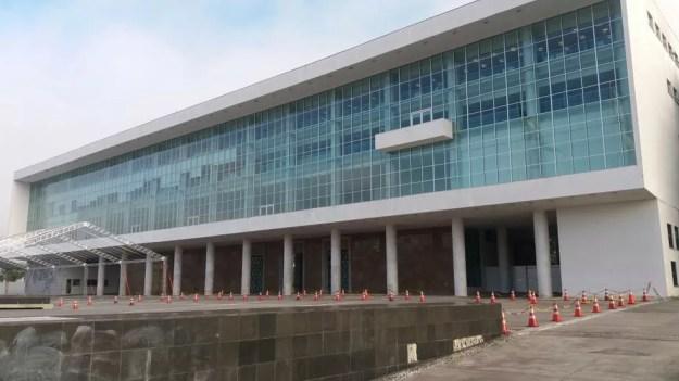 Casa Civil, que fica no Palácio do Iguaçu, sede do Governo do Paraná, foi alvo de busca e apreensão nesta quinta-feira (22) (Foto: Gil Bermudes/RPC)