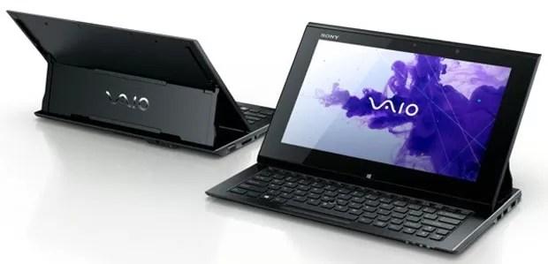Tablet Vaio Duo 11 roda Windows 8, tem teclado deslizável e caneta stylus (Foto: Divulgação)