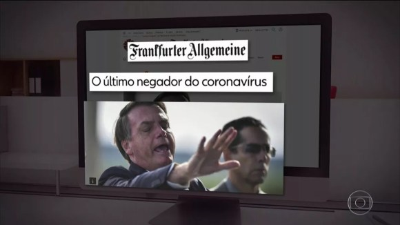 Imprensa internacional repercute postura de Bolsonaro diante da pandemia de coronavírus