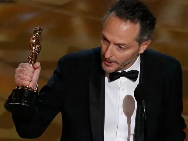 Emmanuel Lubezki ganha Oscar de melhor fotografia por 'O regresso', seu terceiro prêmio seguido (Foto: REUTERS/Mario Anzuoni)