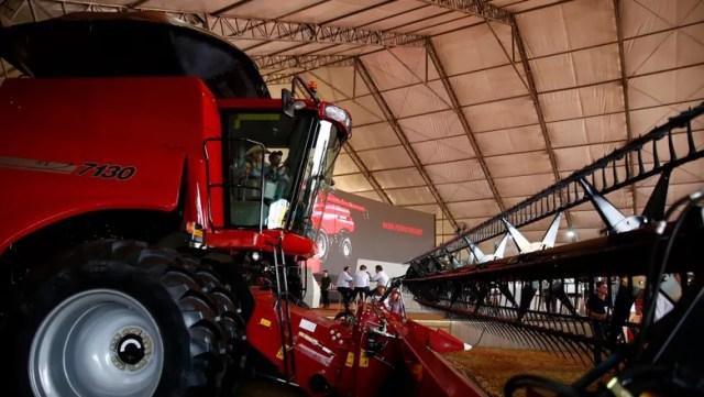 agrishow-maquinas-agricolas-brad-crews-presidente-case (Foto: Joel Silva/Ed.Globo)