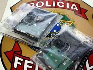Discos rígidos foram apreendidos na Zona Norte de Porto Alegre (Foto: Divulgação/PF)