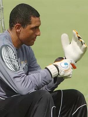 Fábio Costa, goleiro do Santos (Foto: divulgação/Santos FC)