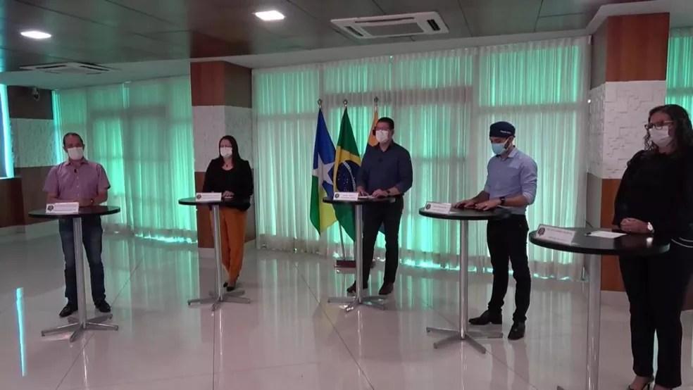 Live sobre variantes do coronavírus circulando em Rondônia é feita pelo governo — Foto: Reprodução/Facebook