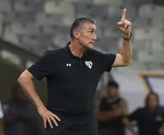 Edgardo Bauza São Paulo (Foto: Rubens Chiri - site oficial do São Paulo FC)