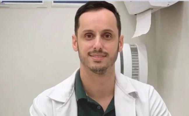 O médico Andrade Lopes Santana — Foto: Reprodução/TV Subaé