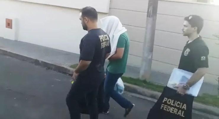 Gerente financeiro da Aegea, André Teixeira foi preso na Operação Callichirus — Foto: João Carlos Borda/EPTV