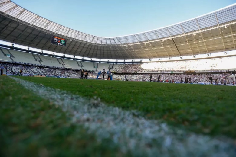 Castelão receberá o primeiro jogo da 21ª rodada do Brasileirão, entre Ceará e Cruzeiro — Foto: J.L. Rosa