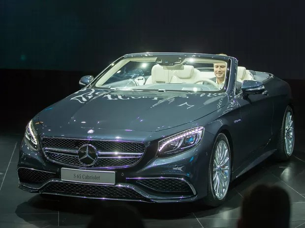 Mercedes-Benz S 65 Cabrio só por encomenda (Foto: AFP PHOTO/Geoff Robins)