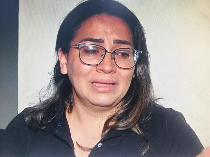 Esposa de jornalista disse que achou que ele estivesse brincando quando falou que 'ela tem que ser forte' — Foto: TV Morena/Reprodução
