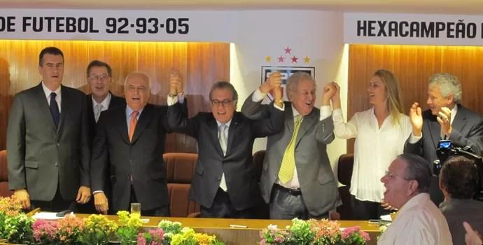 Carlos Miguel Aidar Eleito (Foto: Carlos Augusto Ferrari/GloboEsporte.com)