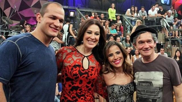 Serginho Groisman recebe Wanessa, Claudia Raia e Junior Cigano