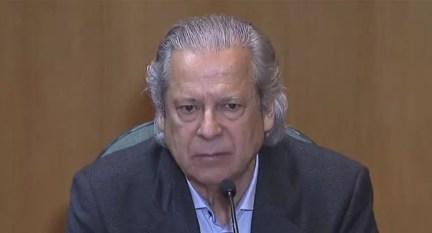 O ex-ministro José Dirceu (Foto: Reprodução / Bom Dia Brasil)