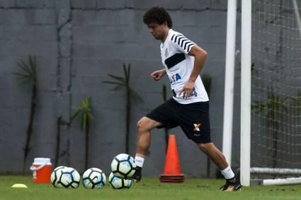 Victor Ferraz, do Santos, é indicado por Dorival ao São Paulo (Foto: Ivan Storti/Santos FC)
