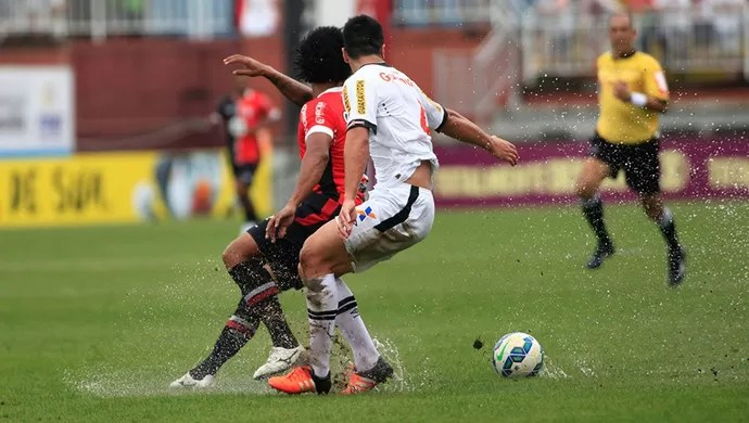 Joinville x Vasco (Foto: www.jec.com.br)