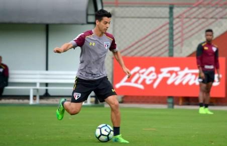 Thomaz disputou apenas duas partidas com Dorival Júnior.  (Foto: Érico Leonan / saopaulofc.net)