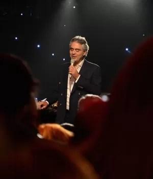 O tenor italiano Andrea Bocelli  (Foto: Getty Images)