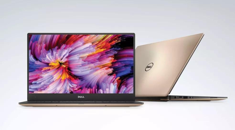 Dell XPS 13 tem processador Intel de oitava geração (Foto: Divulgação/Dell)
