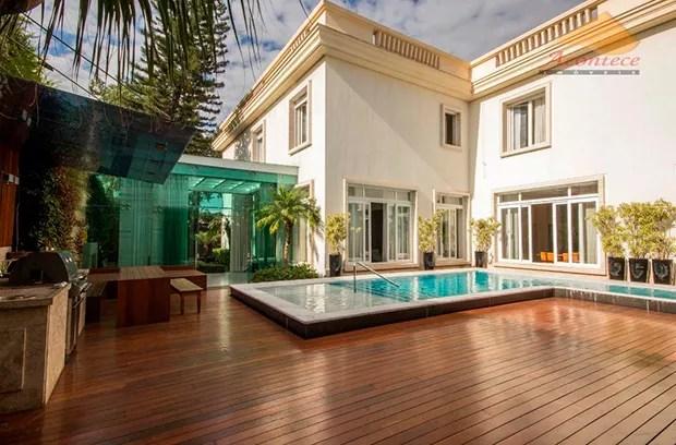 Casa do Ronaldo (Foto: Reprodução)