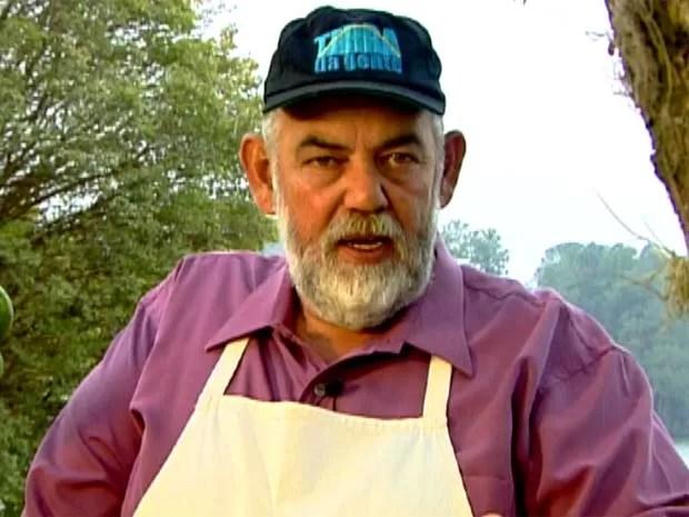 Vicentão estreou o quadro Hora do Rancho, no programa Terra da Gente (Foto: Reprodução / EPTV)