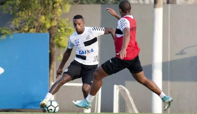 Cleber, zagueiro do Santos, é alvo do São Paulo (Foto: Ivan Storti/ Santos FC)