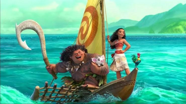 Cena da animação 'Moana - Um mar de aventuras', da Disney (Foto: Divulgação/Disney)