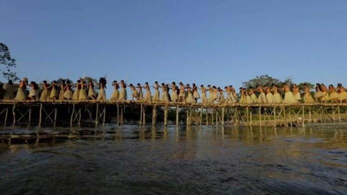 Trajetória dos índios Yawanawá se tornou referência para povos vizinhos  — Foto: Sérgio Vale/Secom-AC