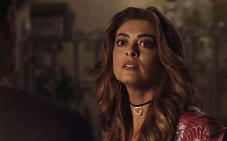 Juliana Paes como Bibi em 'A força do querer' — Foto: Reprodução/TV Globo