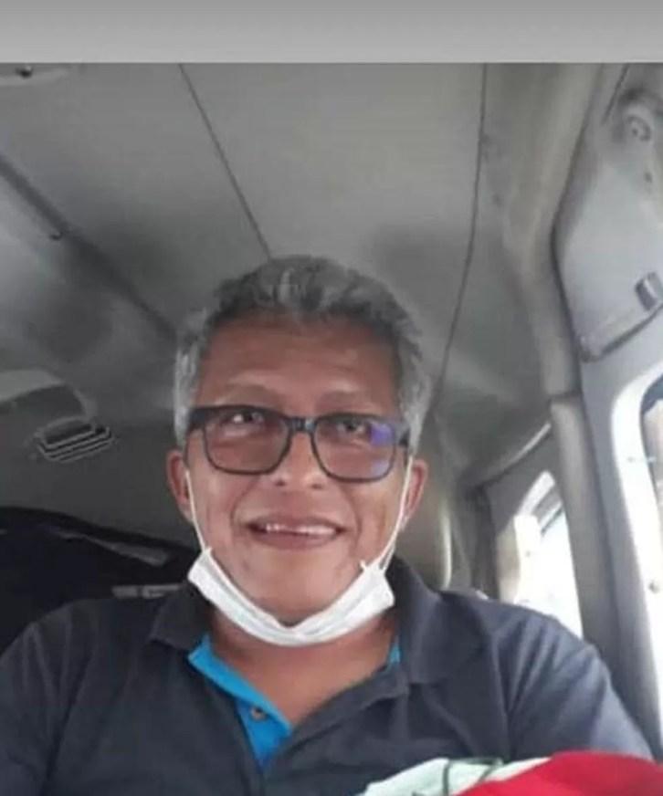 Laurence Huamani Alvarez, 51 anos, morreu na início da tarde de terça-feira (27) — Foto: Reprodução