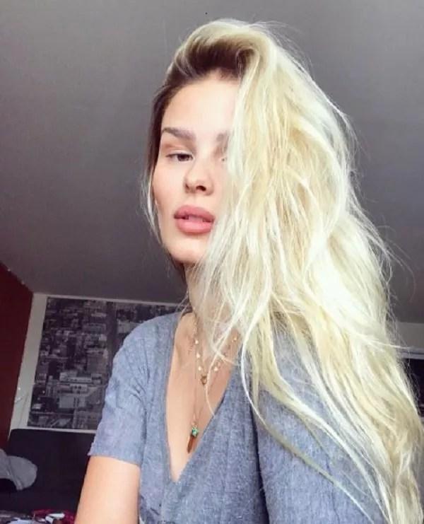 Yasmin cuida do cabelo com produtos naturais  (Foto: Reprodução Instagram )