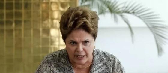 Presidente e candidata à reeleição Dilma Rousseff (Foto: Givaldo Barbosa / O Globo)