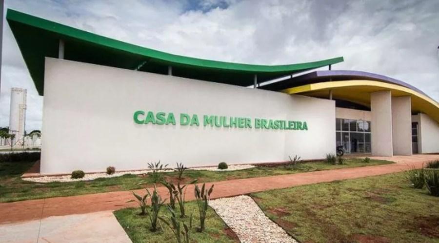 Vítima foi levada para Casa da Mulher Brasileira — Foto: Sejusp-MS/Divulgação