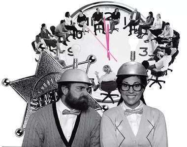 Além do matador de ideias, há, nas reuniões, outros dois tipos igualmente indesejáveis:  os repetidores e  os conversinhas (Foto: Thinkstock;Alamy Images)