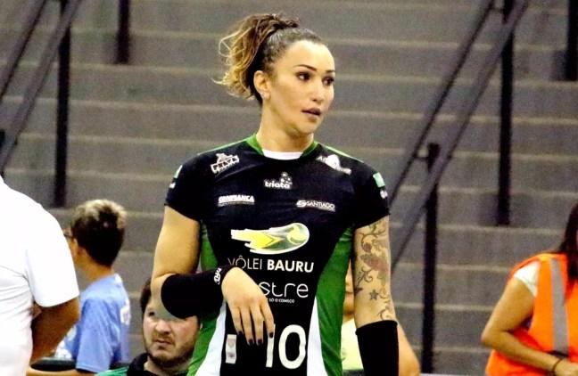 Tifanny Abreu — Foto: Sérgio Pais