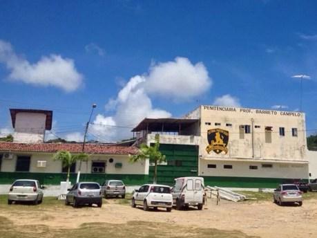 Penitenciária Barreto Campelo, Grande Recife (Foto: Kety Marinho/TV Globo)
