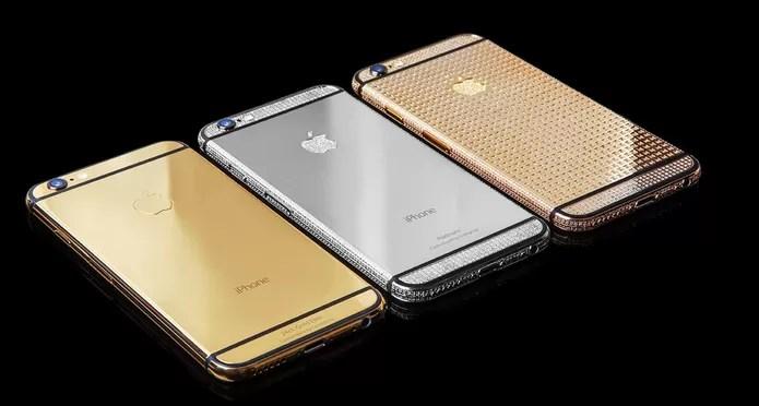Goldgenie oferece versões de luxo do iPhone 6S e 6S Plus (Foto: Divulgação/Goldgenie)