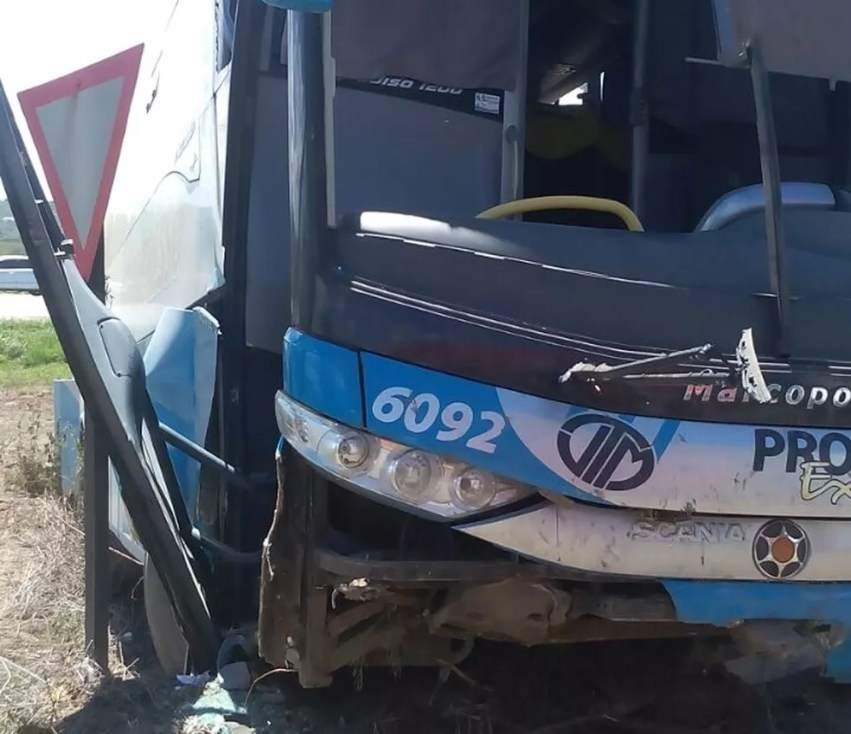 Acidente aconteceu no fim da manhã desta quinta-feira (Foto: Rinaldo Luiz/Arquivo Pessoal)