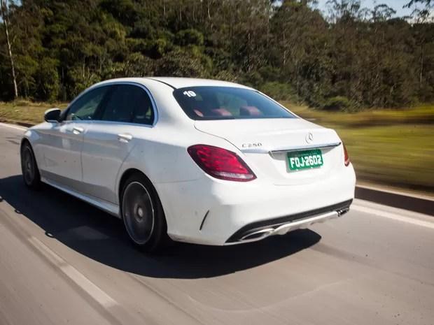 Mercedes-Benz Classe C (Foto: Victor Moriyama/G1)