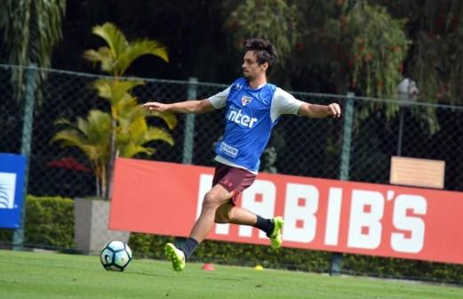 Rodrigo Caio foi convocado por Tite para a seleção brasileira (Foto: Erico Leonan / site oficial do SPFC)