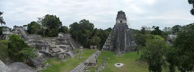 Arquitetura maia na Guatemala (Foto: Wikimedia Commons)