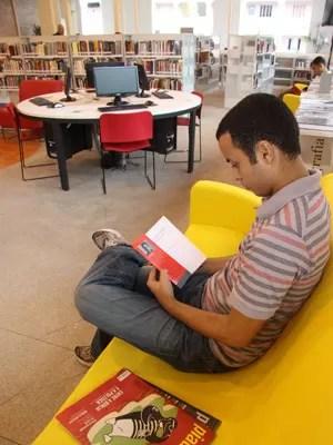 Biblioteca de Manguinhos  (Foto: Secretaria Estadual da Cultura/RJ)