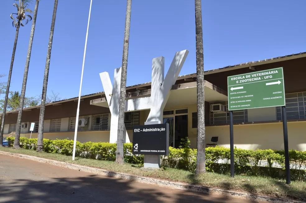 Centro de Aulas da Escola de Veterinária e Zootecnia da UFG (EVZ/UFG - Câmpus Samambaia) na Avenida Esperança, no Campus Universitário Samambaia, em Goiânia, Goiás — Foto: Universidade Federal de Goiás/Divulgação