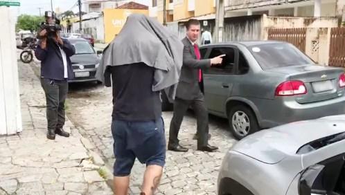 Preso na etapa paraibana da Luz na Infância 2 foi liberado após pagamento de fiança em João Pessoa (Foto: Walter Paparazzo/G1)