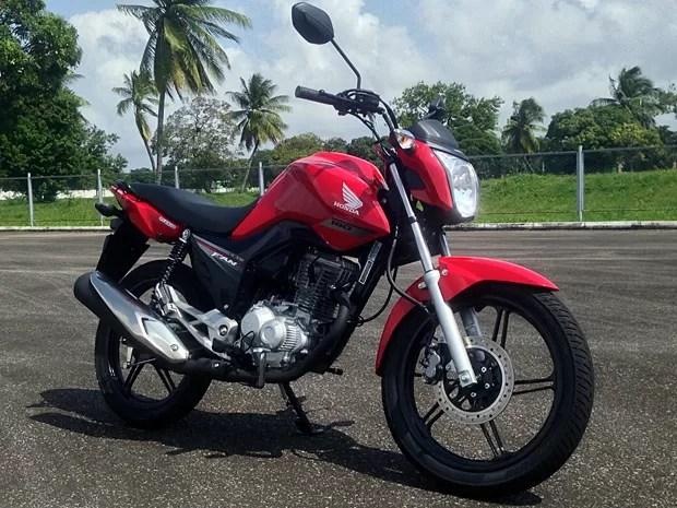 honda_cg_fan_vermelha_miotto - Nova Honda CG 160 é lançada com preço a partir de R$ 7.990