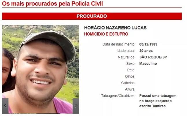 Letícia Tanzi foi morta a facadas pelo pai em São Roque  — Foto: Reprodução