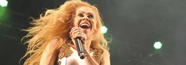 A cantora Joelma — Foto: Gabriel Jabur/Agência Brasília