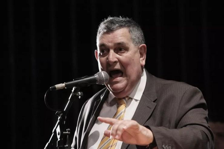O vereador Arnaldo Faria de Sá (Progressistas) durante evento da Câmara Municipal de São Paulo. — Foto: André Bueno/CMSP