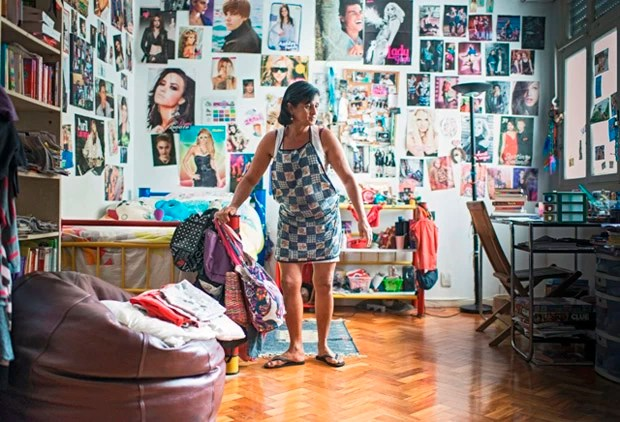 'Dona Magna', empregada doméstica fotografada para o projeto (Foto: Divulgação/Olivia Gay)