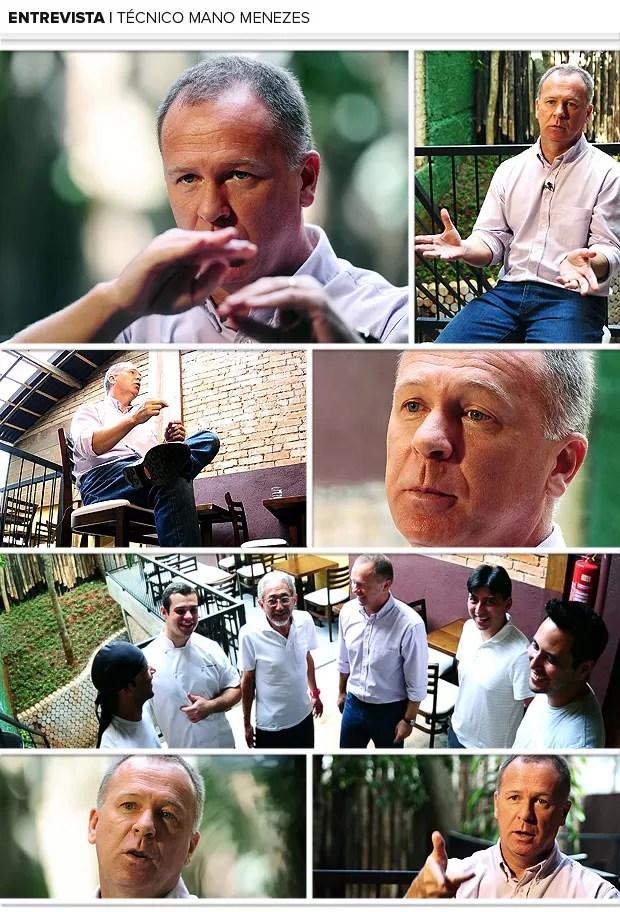 mosaico Mano Menezes entrevista (Foto: Marcos Ribolli / Globoesporte.com)